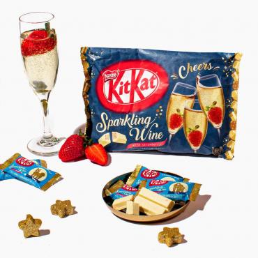 Kit Kat Goût Vin Pétillant...