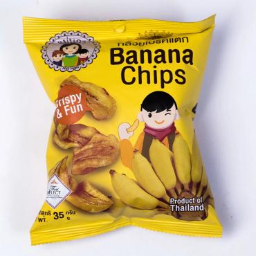 Paquet de chips de banane