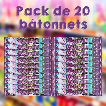 Pack de 20 batônnets de...