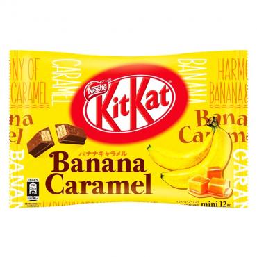 Kit Kat Goût Banane Caramel