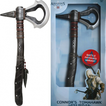 Assassin's Creed III - Replique Tomahawk Connor Usée