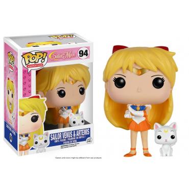 Sailor Moon - Figurine Sailor Venus et Artemis POP