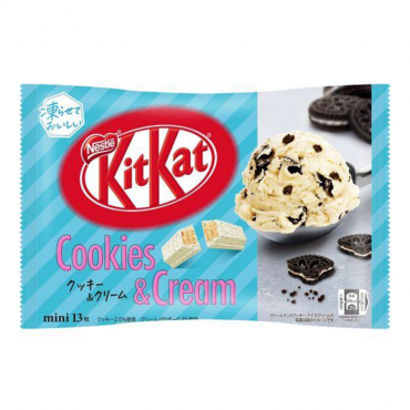 Kit Kat Goût Cookies & Cream