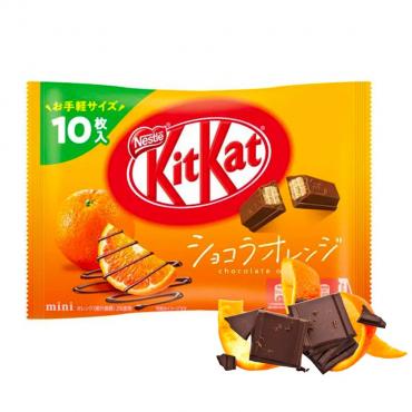 Kit Kat Goût Orange & Chocolat