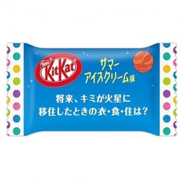 Kit Kat Goût Glace d'Été à...