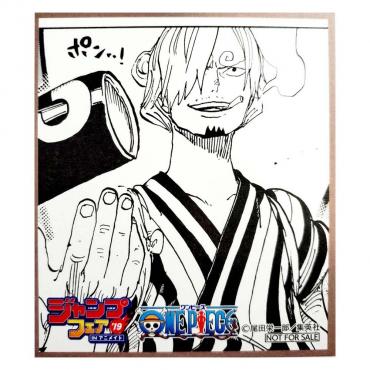 One Piece - Mini Shikishi...