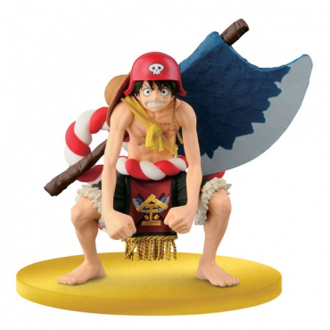 One Piece - Figurine Luffy Big Zoukei Scultures