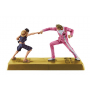 One Piece Gold - Pack Figurines Luffy Et Gild Tesoro Manhood DXF