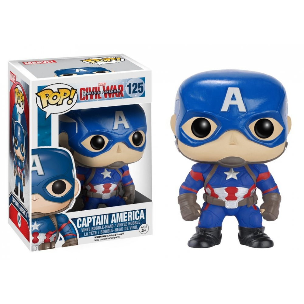 Captain America Civil War - Figurine POP Captain America