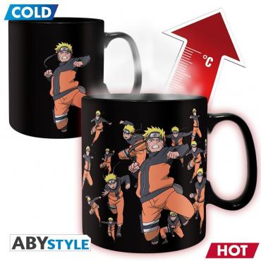 Naruto Shippuden - Mug Naruto Thermo Reactif