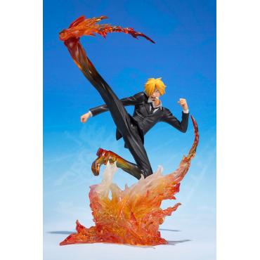 One Piece - Figurine Sanji Diable J Prem Hachis Figuarts Zero