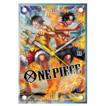 One Piece - Horloge Ace Et Luffy Marine Ford