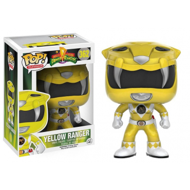 Power Rangers - POP Yellow Ranger