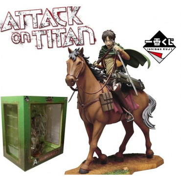 Attack On Titan - Figurine Eren Ichiban Kuji
