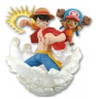 One Piece - Figurine Luffy Et Chopper For The New World