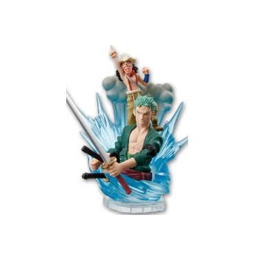 One Piece - Figurine Zoro Et Usopp For The New World