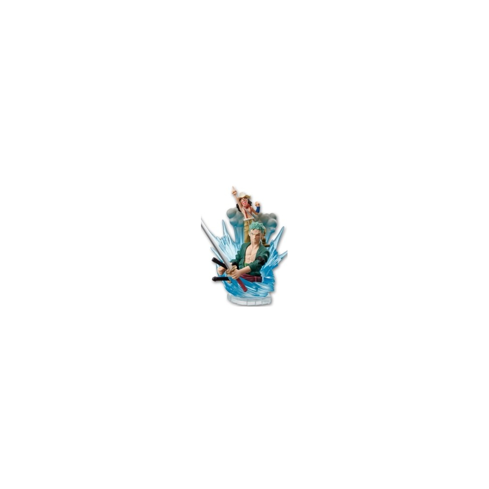 One Piece - Figurine Zoro Et Usopp For The New World