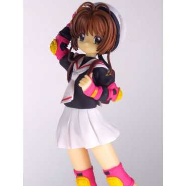 Sakura Chasseuse De Cartes - Figurine Sakura Kinomoto en Uniforme