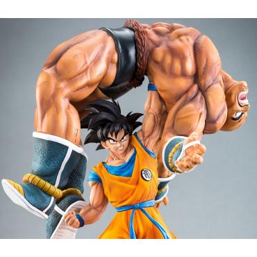 Dragon Ball Z - Figurine Goku Et Nappa HQS