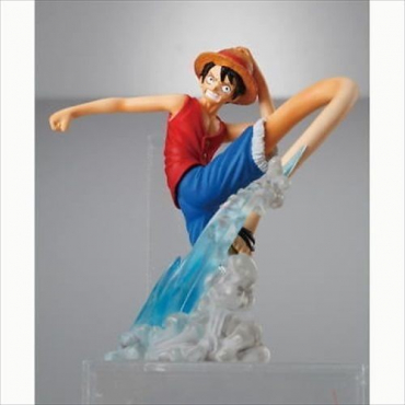 One Piece - Figurine Monkey D Luffy Attack Motion