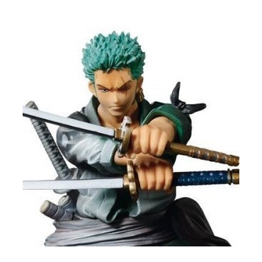 One Piece - Figurine Roronoa Zoro Scultures Shining Color Version