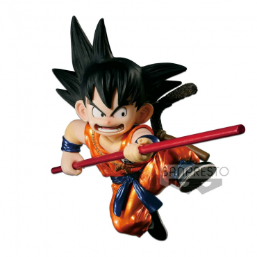 Dragon Ball - Figurine Goku Scultures Special Metalic Color