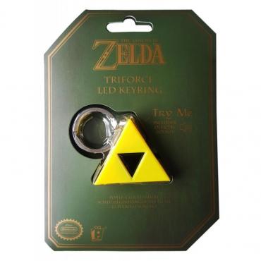 The Legend of Zelda porte-clés Triforce Effet Sonore Et Lumineux