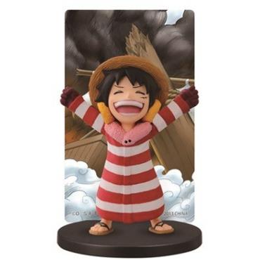 One Piece - Figurine Luffy Punk Hazard Ichiban Kuji Lot F