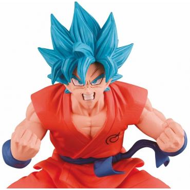Dragon Ball Super - Figurine Goku Super Saiyan God Kaioken Sans Effet