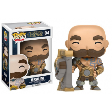 League Of Legends - Figurine POP Braum