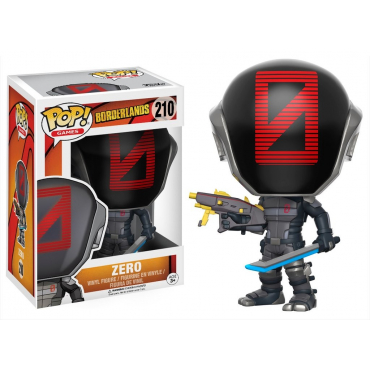 Borderlands- Figurine POP Zero