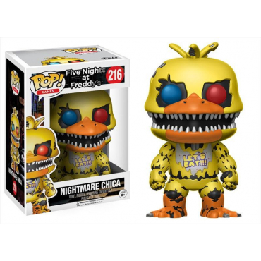 Five Nights At Freddy's - Figurine POP Nightmare Chica