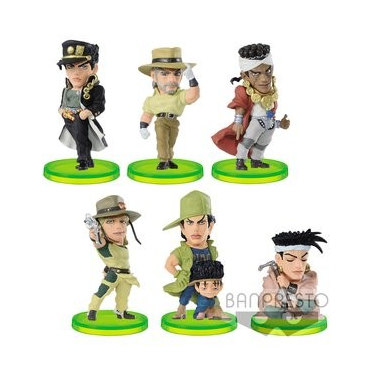 Jojo's Bizarre Adventure Diamond Is Unbreakable - Pack WCF Vol.6 Figurines