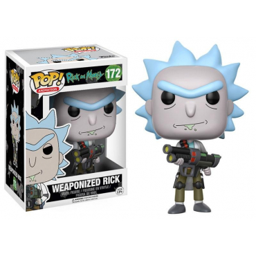 Rick And Morty - Figurine POP Weaponized Rick