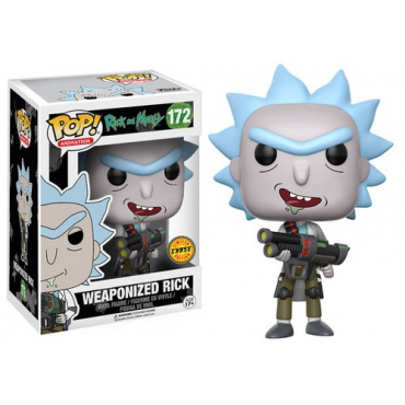 Rick And Morty - Figurine POP Weaponized Rick Chase