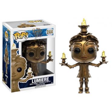 La Belle Et La Bête - Figurine POP Lumiere