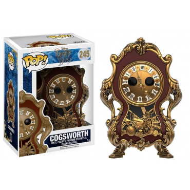La Belle Et La bête - Figurine POP Cogsworth