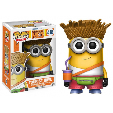 Les Mignons - Figurine POP Touriste Dave