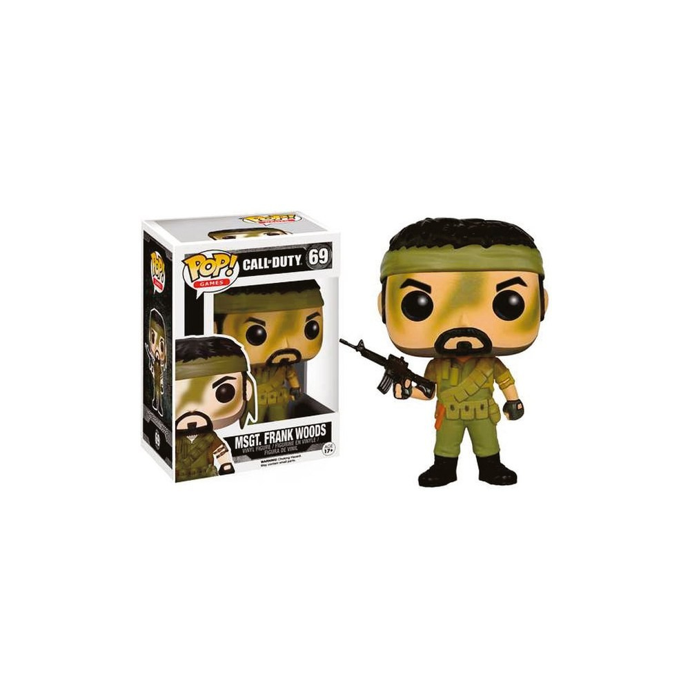 Call Of Duty - Figurine POP Frank Woods