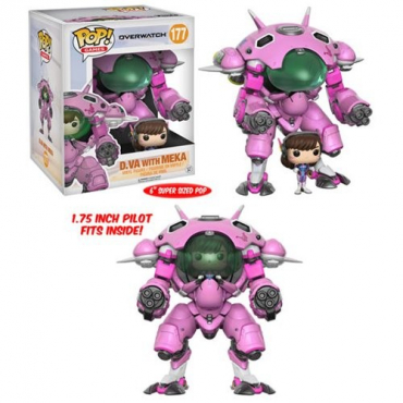Overwatch - Figurine POP D.VA With Meka