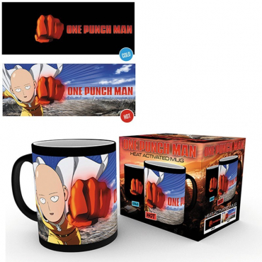 One Punch Man - Mug Thermoréactif 300 ml Saitama