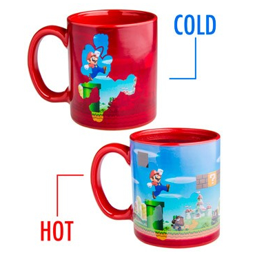 Super Mario - Mug thermo-Reactif Mario