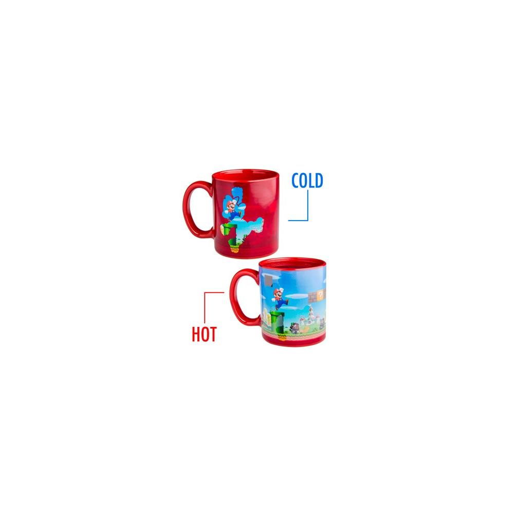 Super Mario - Mug thermo-Reactif Mario