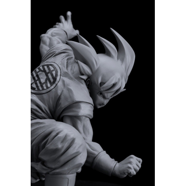Dragon Ball - Figurine Son Goku Scultures Colosseum 7 Vol.4 Monochrome Version
