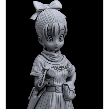 Dragon Ball - Figurine Bulma Colosseum 7 Scultures Vol.5 Monochrome Version