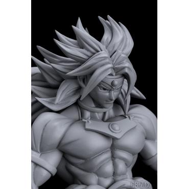 Dragon Ball Z - Figurine Broly Scultures Big Budokai 7 Monochrome Version