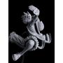 One Piece - Figurine Monkey D Luffy SCultures Big Zoukeio 6 vol.3 Monochrome Version