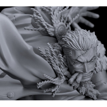One Piece - Figurine Smoker Scultures Big Zoukeio 6 Vol.5 Monochrome Version