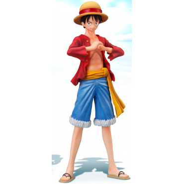 One Piece - Figurine Monkey D Luffy Super Styling Ambitious Might