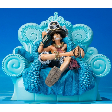 One Piece - Figurine Monkey D Luffy Diorama Figuarts Zero 20TH anniversary